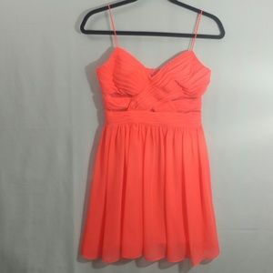 Coral Hailey Logan by Adrianna Papell Mini Dress
